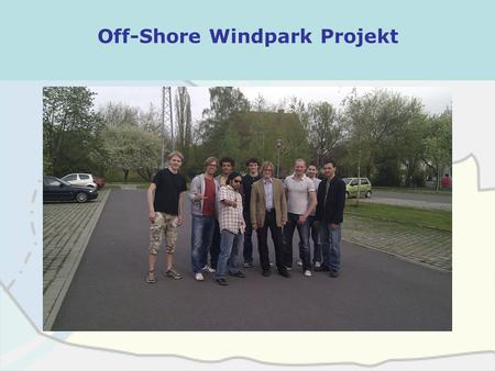 Off-Shore Windpark Projekt Kaliningrad