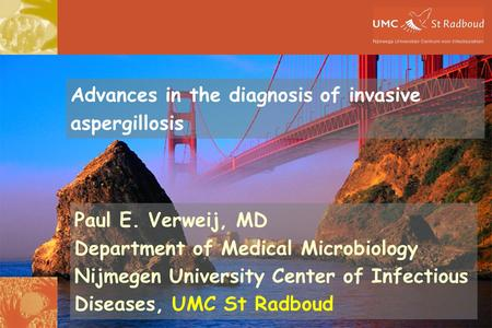 Advances in the diagnosis of invasive aspergillosis