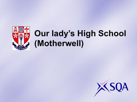 Our ladys High School (Motherwell). Some examples of the projects that learners have been involved in for the Leadership Award…