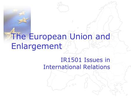 European union trade relations issues and