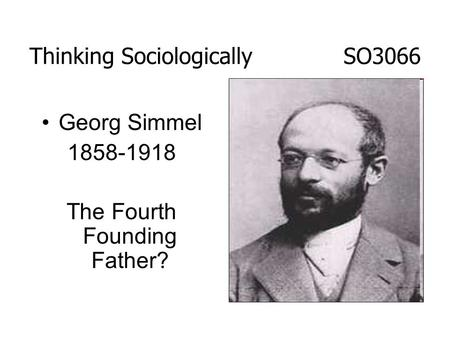 Georg simmel conflict the web of group affiliations