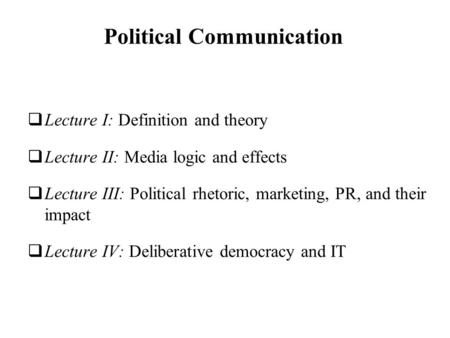 political essay definition