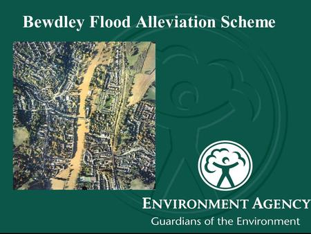 Bewdley Flood Alleviation Scheme. Bewdley, November 2000.