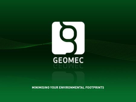 GEOMEC GROUP 2 Geomec Engineering AS offers independent studies, consultancy, training and auditing for oil and gas operators, with an emphasis on compaction.