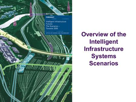 Overview of the Intelligent Infrastructure Systems Scenarios.