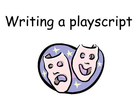 Writing a playscript. It is a dark, cold night and Mel and Sid are sitting on a green park bench. The street lights are dim and the sound of the traffic.