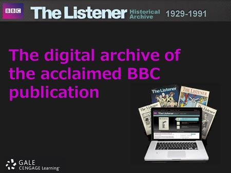 The digital archive of the acclaimed BBC publication.