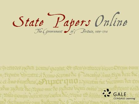What makes State Papers Online a really valuable research archive for Early Modern research? SPO overcomes the difficulty of matching an individual Calendar.