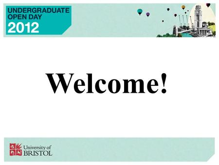Welcome!. Religion & Theology (V600) PROVISIONAL NEW UNDERGRADUATE PROGRAMME from September 2013.
