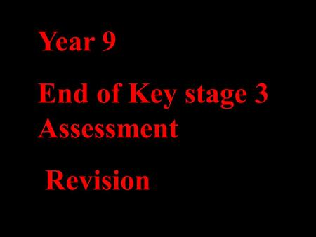 Year 9 End of Key stage 3 Assessment Revision. Can you identify some of the risks that people face in society.