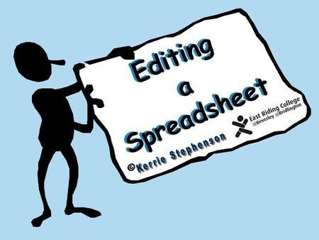 Editing a Spreadsheet ©. End Next Quit Next If for any reason you want to exit from the test, click the Quit.