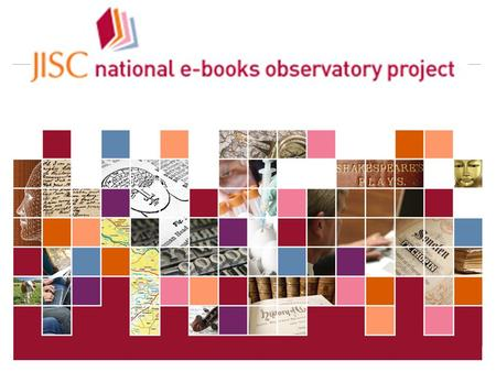 JISC Collections 24-Apr-14 | SOAS E-books Workshop | Slide 1.
