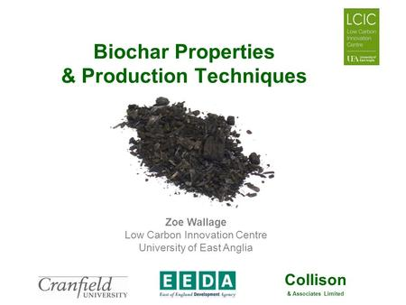 Biochar Properties & Production Techniques
