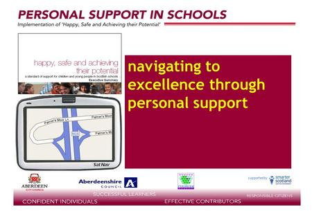 Supported by navigating to excellence through personal support.
