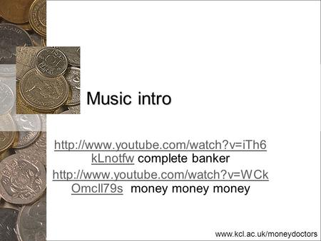 Music intro  complete banker