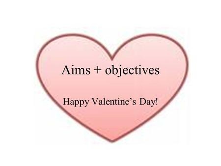 Aims + objectives Happy Valentines Day!. Statement 15.9: Rheumatology and Conditions of the Musculoskeletal System Symptoms –Inflammation –Loss of function.