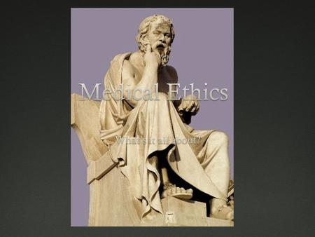 Ethics A subfield of philosophy Aims to clarify the nature of Right and wrong Good and bad Clarifies justification of ethical ideas Tells us how we ought.