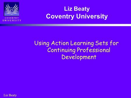 Liz Beaty Coventry University