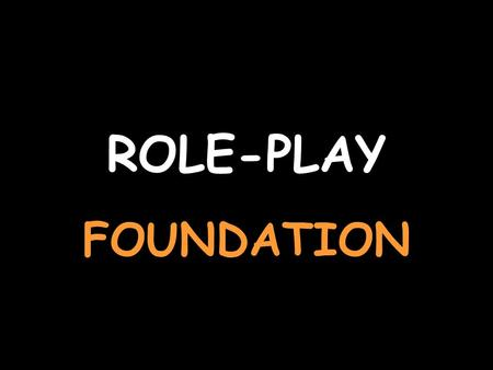 ROLE-PLAY FOUNDATION You are talking about your school For help with the vocab, click herehere Say why you like it Weil es leicht ist. Say your favourite.