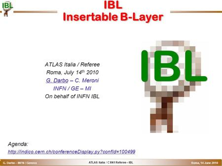 IBL Insertable B-Layer
