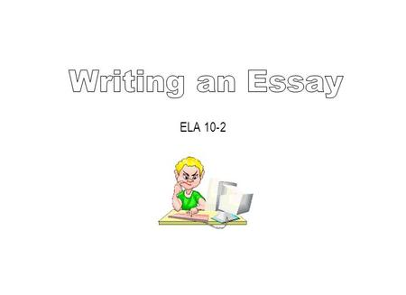 ELA 10-2. What is an essay? An essay is an extended piece of writing in which an author explores a subject in some detail. Skilled essayists do the following: