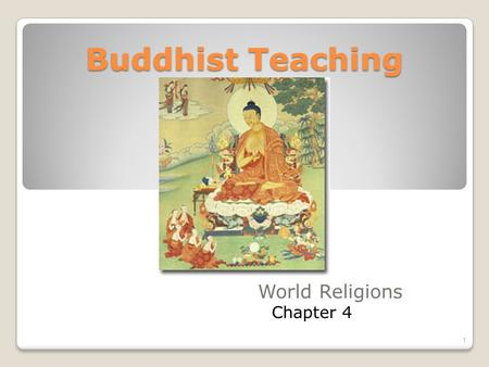 the path of teaching and practice of buddhism