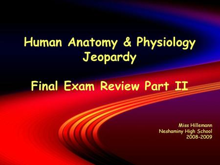 human anatomy final exam Here is the best resource for homework help with sc 131 : human anatomy and physiology 11 at kaplan university, davenport find sc131 study guides, notes, and.