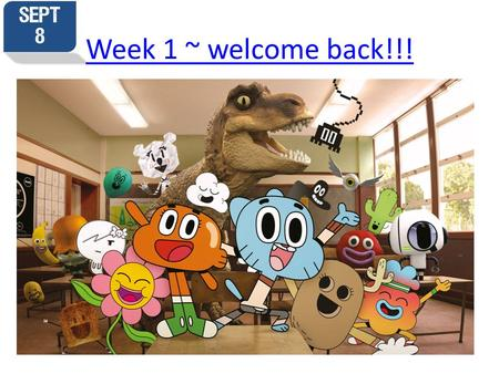 Week 1 ~ welcome back!!!. September 9 th Composition? Then list 3 and how you will set about attaining them: Wednesday September 9 th JA #1 Why AP Language.