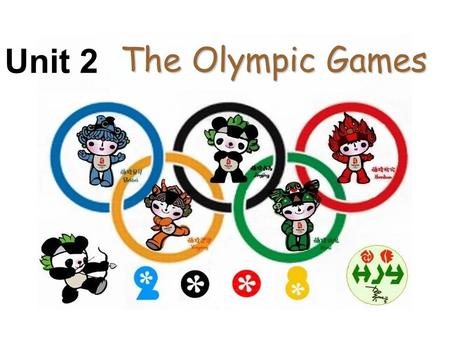 The Olympic Games Unit 2. athlete/competitor Checking answers Many countries competed in the ancient Olmpic Games. No countries (only Greek cities)