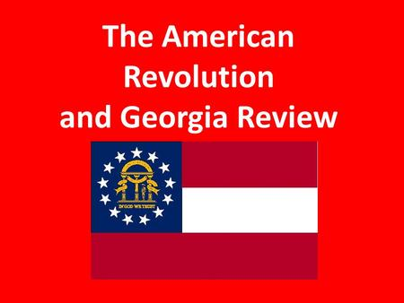 The American Revolution and Georgia Review. What was the result of the British siege of Savannah? Savannah remained under the control of the British.