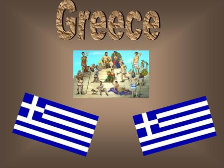 This is the flag of Greece. This is the map of Europe.