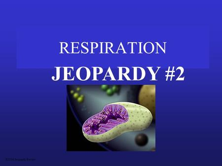 RESPIRATION JEOPARDY #2 S2C06 Jeopardy Review Diagrams Aerobic vs AnaerobicMoleculesPathwaysMiscellaneous 200 400 600 800 1000.