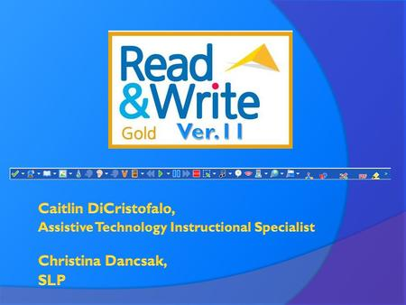 Getting Started 1) Open Read & Write Gold 2) Open Word 3) Click on textHELP drop down arrow 4) Choose General Options.