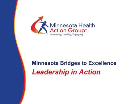 Leadership in Action Minnesota Bridges to Excellence.