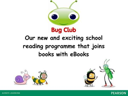 Our new and exciting school reading programme that joins books with eBooks.