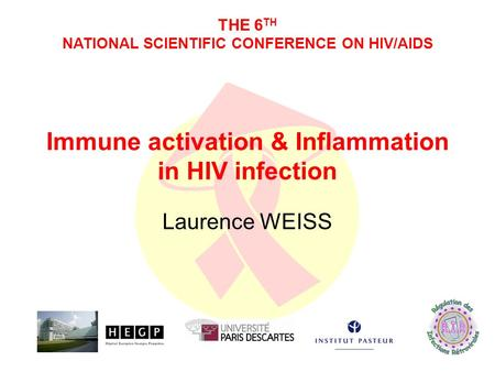 Immune activation & Inflammation in HIV infection