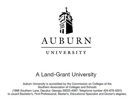 Compliance Certification QEP Document Compliance Certification Report of Off-Site Review Any Auburn Responses QEP Document Compliance Certification.