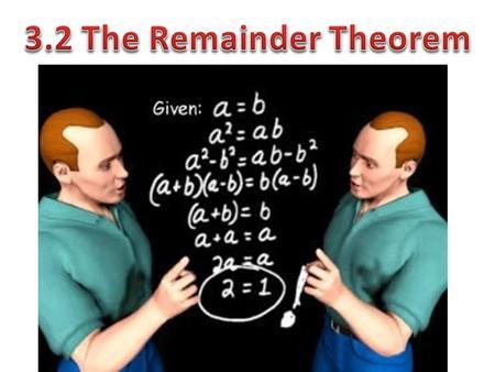relationship between dividend divisor quotient and remainder in programming