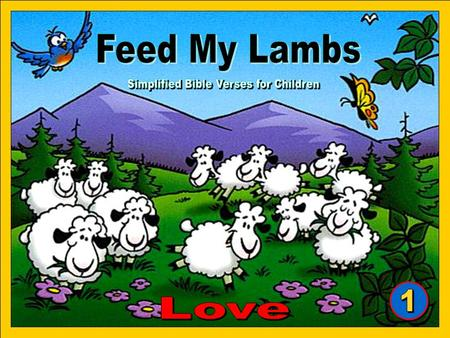 "From ""Feed My Lambs"" booklets Aurora Production AG Switzerland. All rights reserved. Art work by Zeb Gepetto Copyright © 2008 Tommy's Window. All Rights."