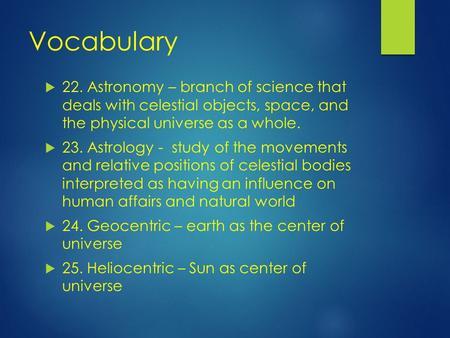 Astrophysics deals with