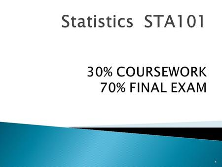 stats coursework conclusion Gcse statistics for certification from june 2014 onwards (version 10) 5 2 2 specification at a glance inferential statistics deductions conclusions 3.