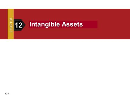 Intangible Assets 12.