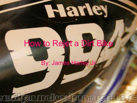 How to Rejet a Dirt Bike By: James Harley Jr. What does the Pilot Jet do? The pilot jet supplies the engine with fuel when idling. When you twist the.