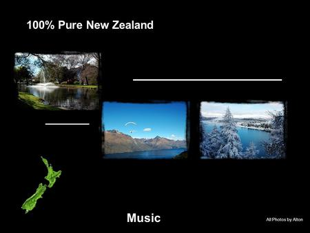All Photos by Alton 100% Pure New Zealand Music Queenstown Bay on last day of 2006.