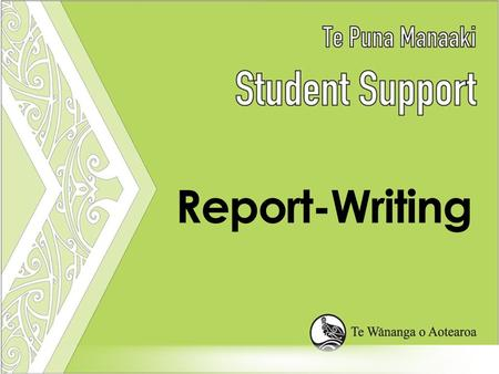 Workshop Overview What is a report? Sections of a report Report-Writing Tips.