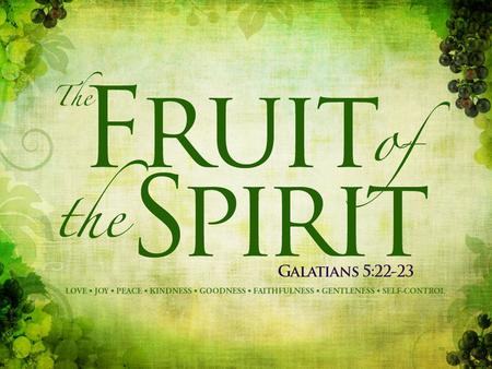 What is the difference between the Gifts and Fruit of the Spirit? With Spiritual Gifts the Holy Spirit gives them as He sees fit - one or more to each.
