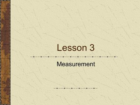 Lesson 3 Measurement Tools used in measuring engine components Micrometer caliper – precision measuring tool for taking outside measurements. Inside.