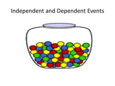 Independent and Dependent Events. Independent Events Two events are independent if the outcome of one event does not affect the outcome of a second event.