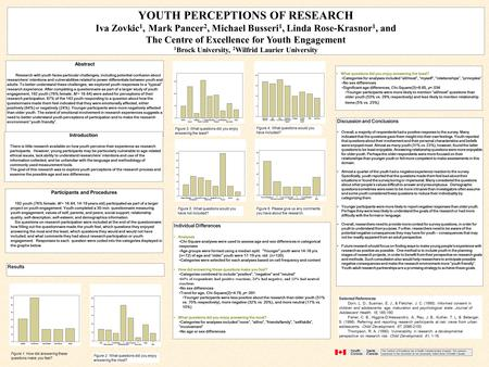 Abstract Research with youth faces particular challenges, including potential confusion about researchers' intentions and vulnerabilities related to power.