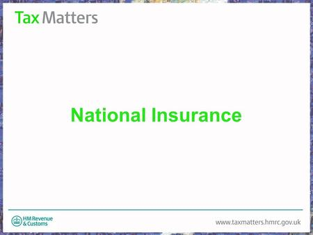 National Insurance. What is National Insurance? The money collected through National Insurance (NI) funds the payment of contributory benefits (such as.